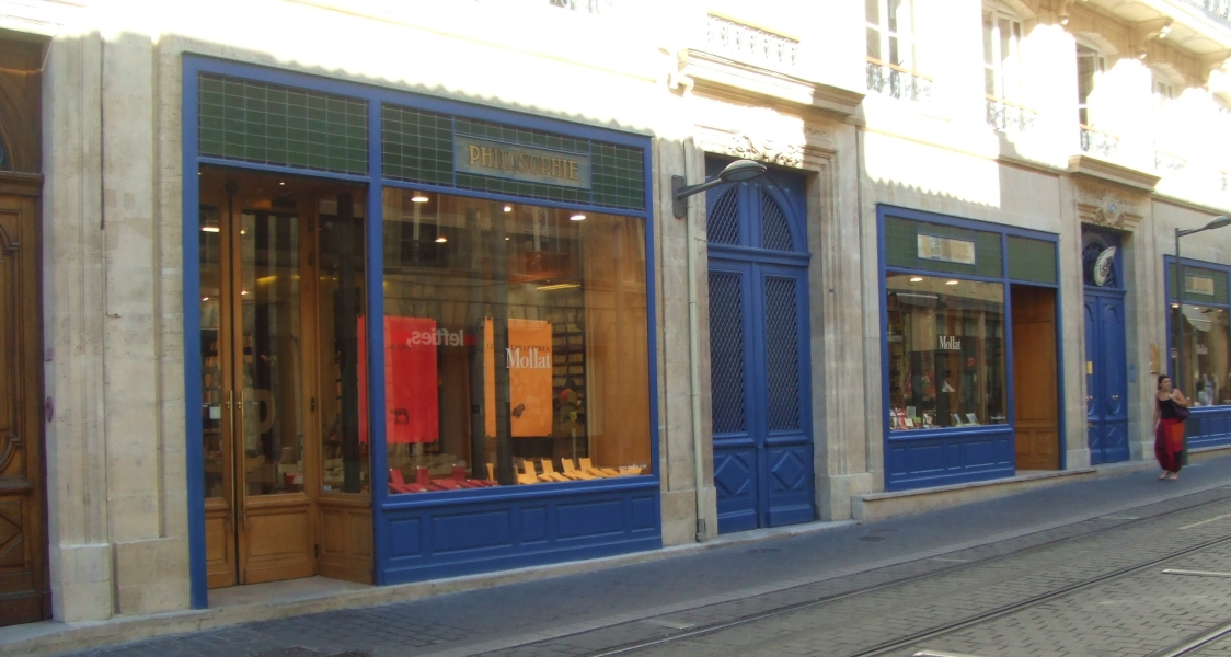 Mollat: biggest independant bookshop in France